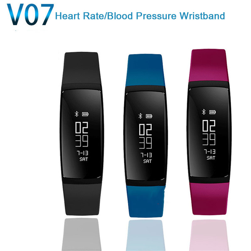 New-V07-Smart-Sports-Wristband-blood-pressure-Heart-Rate-Monitor-Smart-Band-Wireless-Fitness-Bracelet-For